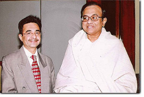 Dr. Jetley with Mr. P . Chidambaram