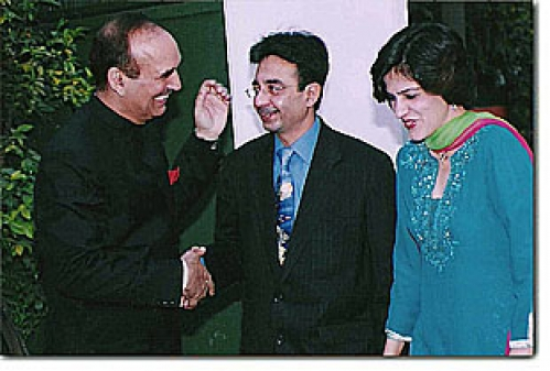 Dr. Jetley with Mr. Ghulam Nabi Azad